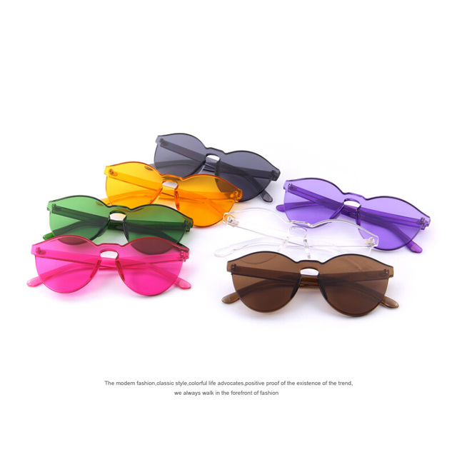 7c188d301a4 MERRY S Fashion Women Sunglasses Cat Eye Shades Luxury Brand Designer Sun  glasses Integrated Eyewear Candy Color UV400