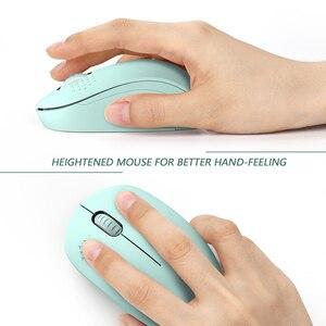 Image 4 - SeenDa Geräuschlos Maus Wireless 2,4G Stille Tasten Ergonomische Stumm Mäuse für Computer Laptop Maus für Desktop Notebook PC Mause