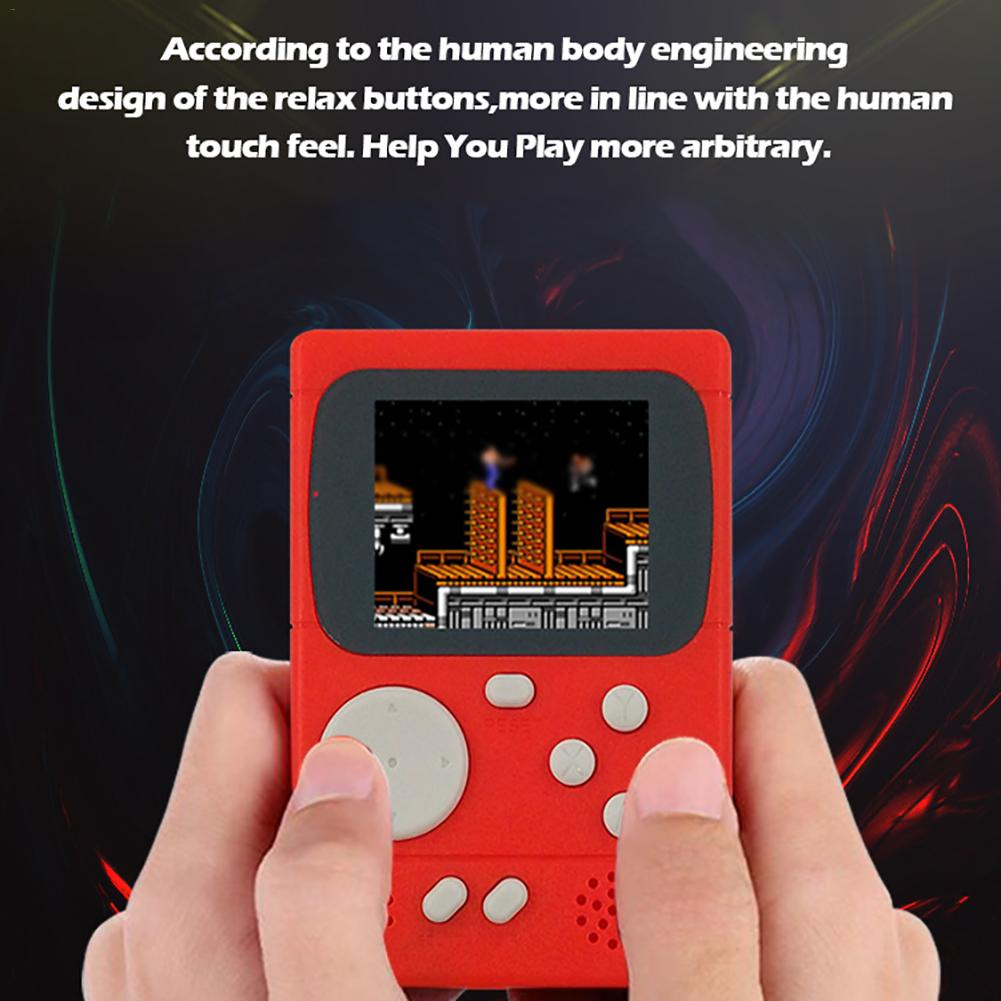 Image 3 - New PXP 8 bit Retro Video Game Console PVP270 PVP3000 Handheld Game Machine With 198 Classic Games For Kids Adults Portable-in Handheld Game Players from Consumer Electronics