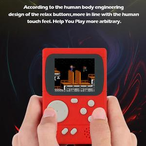 Image 3 - New PXP 8 bit Retro Video Game Console PVP270 PVP3000 Handheld Game Machine With 198 Classic Games For Kids Adults Portable