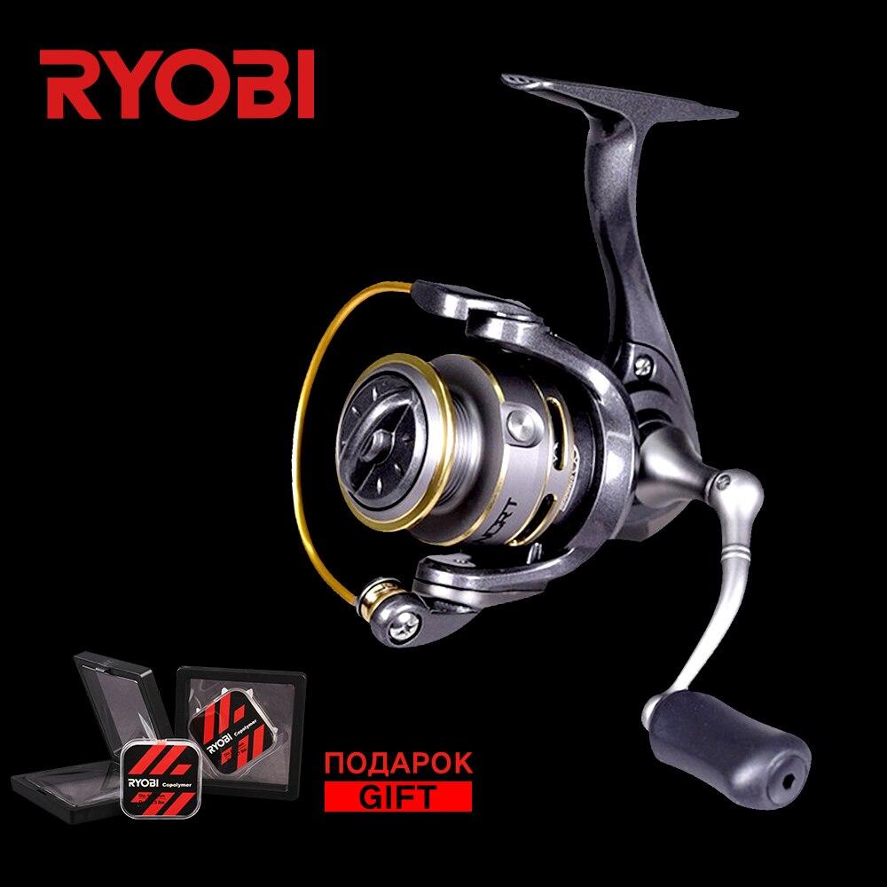 RYOBI SPIRITUAL-DX 500/800 100% origine 7 roulement à billes bobine 5.2: 1 vitesse corps en aluminium droite main gauche échange glace pêche moulinets