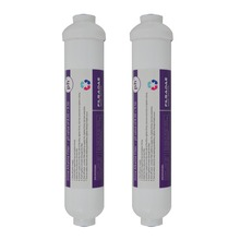PACK of 2 Reverse Osmosis Post Filter 10 L x  OD Inline Alkaline Water Cartridge after filter ph value 8.00 - 9.50