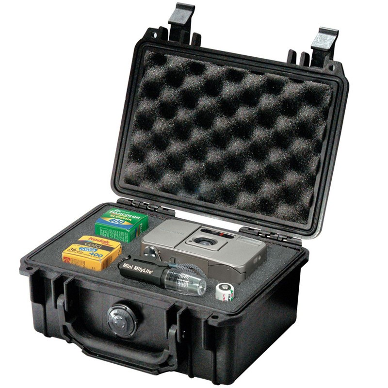 LAOA Tool Case Suitcase Toolbox File Box Impact Resistant Safety Case Equipment Camera Case with Pre-cut Foam Lining