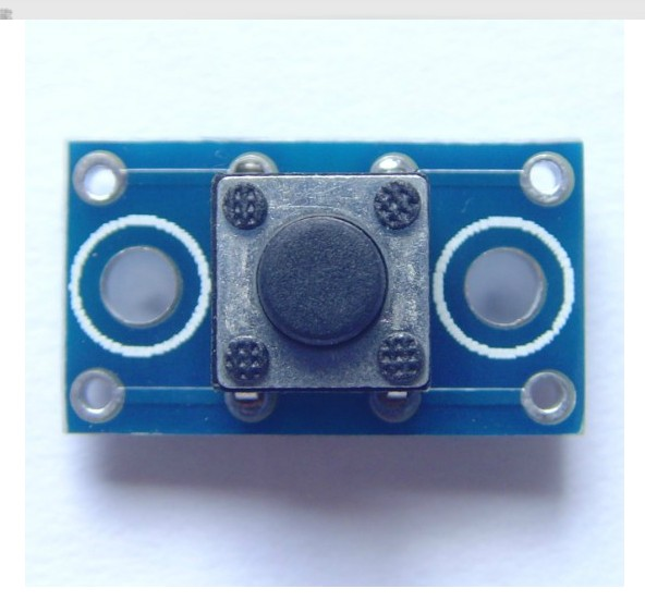 10PCS XD-21 6x6MM Button Module Tact Switch Module PCB Board Size: 16 (mm) X 9 (mm)onboard 6x6x5 (mm) Touch Button