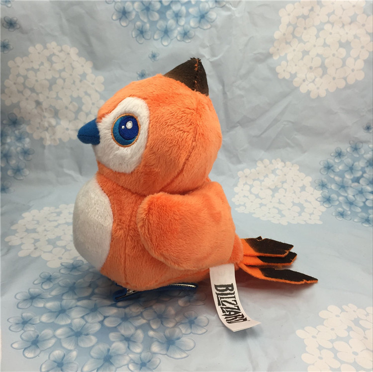 WOW Pepe bird plush toy game World Hearthstone pillow stuffed bag charms, personalized christmas gift toy цена