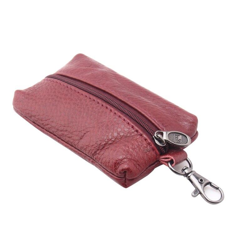 carteira chave de couro genuíno Largura do Item : 7.6cm