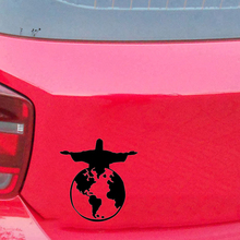 Jesus World Symbolic Decal Sticker Truck Window Car Accessories Motorcycle Helmet Styling