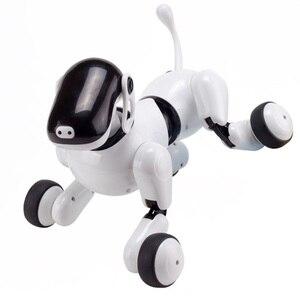 Image 4 - I bambini Pet Robot Giocattolo Del Cane con la Danza Canto/Controllo di Riconoscimento vocale/Touch/APP di Programmazione Personalizzata Azioni