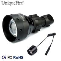 UniqueFire 10W Led Flashlight 1504 Cree XM L2 Led 5 Modes Black Light 1200Lumens White Light