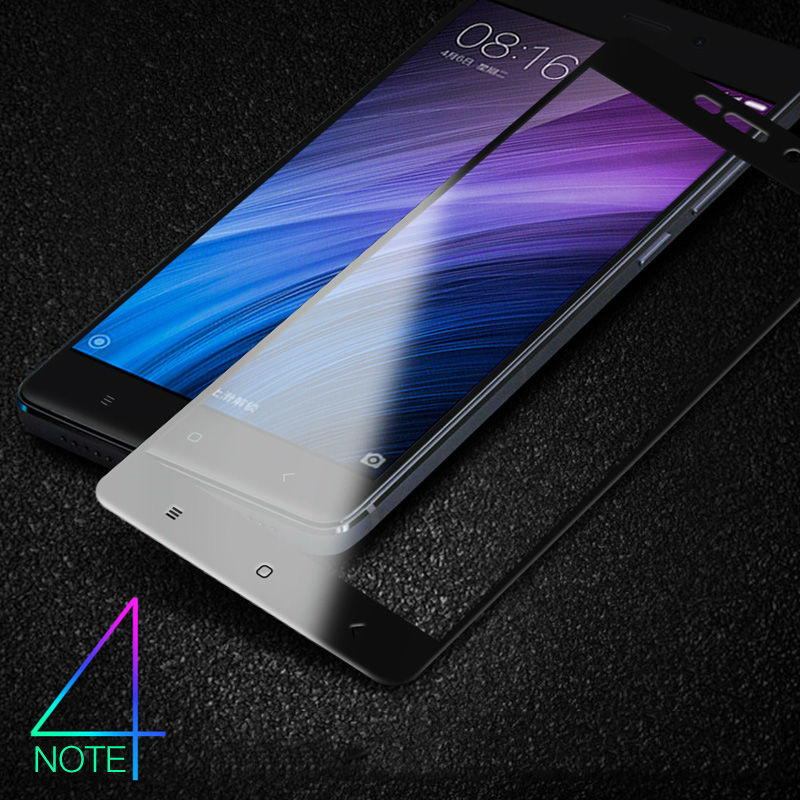 Tempered Glass for <font><b>Xiaomi</b></font> <font><b>Redmi</b></font> Note 4 <font><b>4X</b></font> Glass 9H <font><b>9D</b></font> Ultra Thin Full Slim Armor Screen Protector for <font><b>Xiaomi</b></font> <font><b>Redmi</b></font> Note <font><b>4X</b></font> Glass image