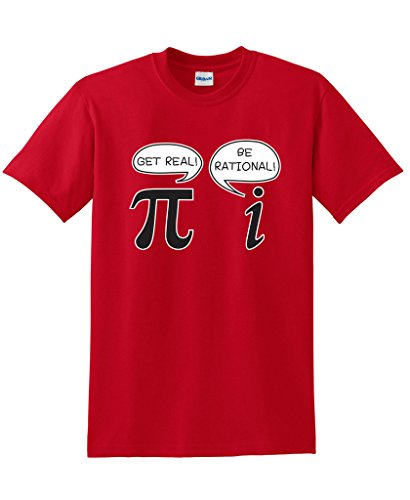 15f9ccf7f Get Real Be Rational Pi Funny Math Geek Sarcastic Adult Novelty Funny T  Shirt-in T-Shirts from Men's Clothing on Aliexpress.com | Alibaba Group