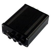 Hot Deal Class D AMP TPA3116 + LM1036 Volume Adjustment Bluetooth Digital Power Amplifier DC18 24V 50W+50W