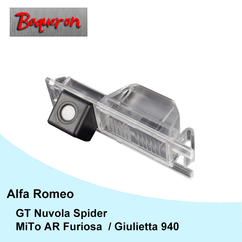 For Alfa Romeo AR GT Nuvola Spider Giulietta 940 MiTo AR Furiosa 07~ Car Rear View Camera HD CCD Reverse Parking Backup Camera