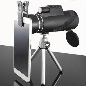 Image 2 - Monocular 40x60 강력한 쌍안경 고품질 줌 그레이트 핸드 헬드 망원경 lll 나이트 비전 군사 HD 전문 사냥