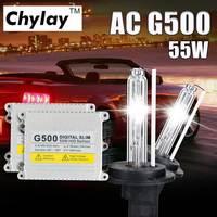 55 W HID xenon kit H4 xenon lamp H7 H1 H3 H11 9005 9006 881 D2S 4300 K 6000 K 8000 K slim ballast voor auto koplamp kit xenon lamp
