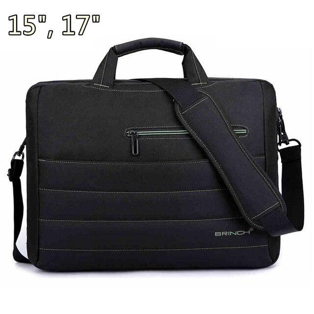 """Горячая марка нейлон сумки для ноутбуков 15 """", 15.4 """", 15.6 """", 17 """", 17.3 """", Плечо для Macbook сумка для ноутбука, Бесплатная прямая поставка"""