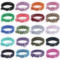 Charms trendy handmade men jewelry alloy anchor hook letter hope multi colors nylon rope pink adjustable unisex macrame Bracelet