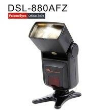 FALCONEYES High quality DSL-880AFZ flash mode TTL speedlite forCanon DSLR camera/photo flash/camera flash/flash speedligh
