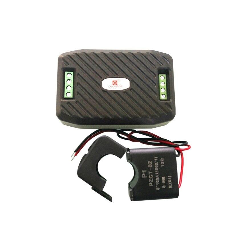 Измеритель мощности переменного тока, измеритель энергии 220 В А, RS485, Modbus