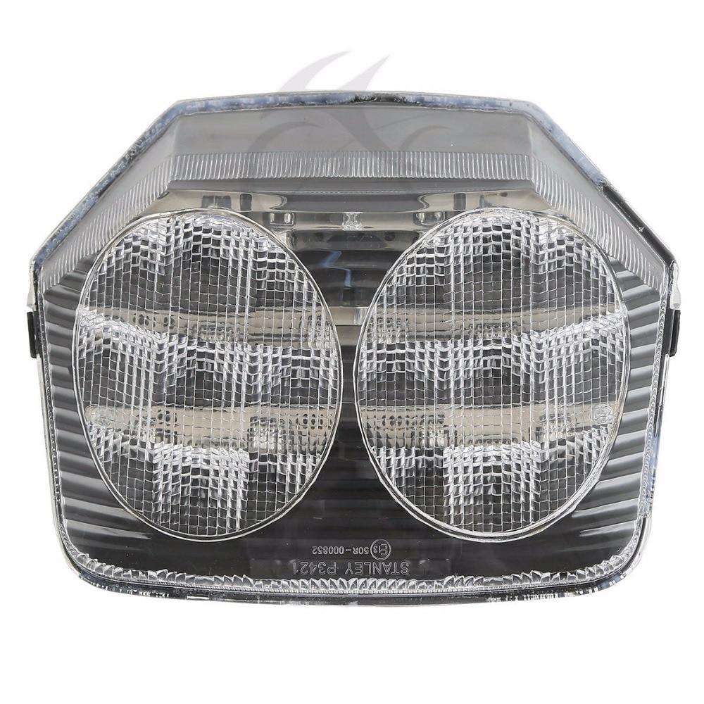 Clear ABS Plastic LED Tail Light For Honda CB400 VTEC 2003-2008 CB1300 2003