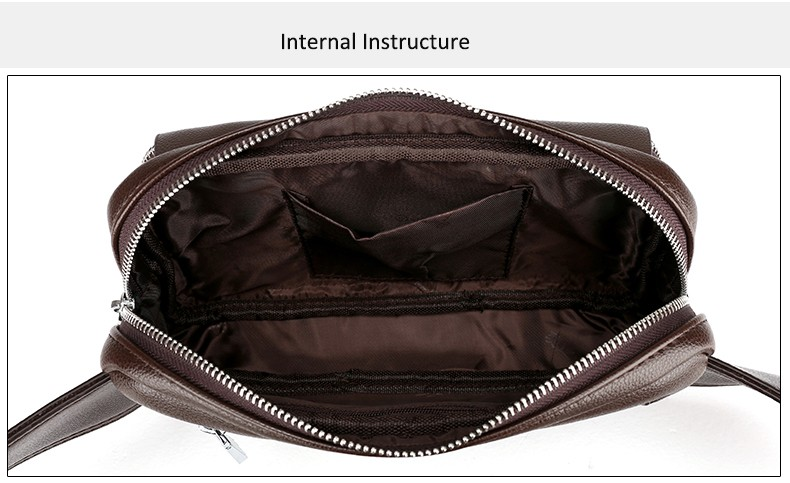 2016 Men Travel Bags Mens Leather Belt Bag Waist Pack Men Waist Bag Fanny Pack Leather Waist Pochetes Homem Bolso Cintura (41)