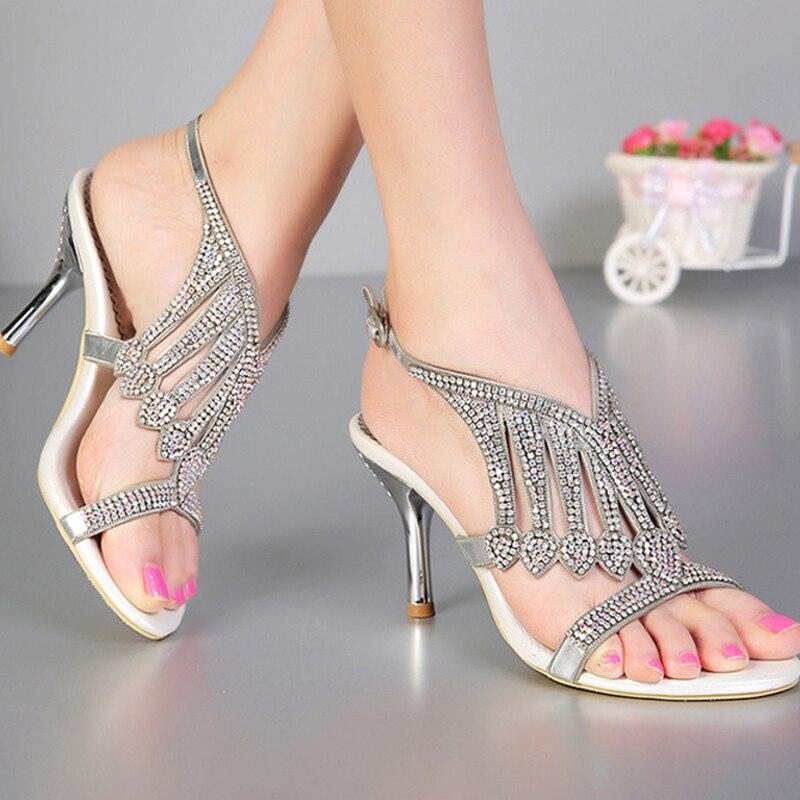 Aliexpress.com : Buy 2016 Open Toe 3 Inches Summer Sexy High Heel ...