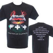 METALLICA - Master Of Puppets - Official T-Shirt - Heavy Metal - New S M L XLShort Sleeve LeisureTop Tee Men T Shirt