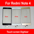 5.5 polegada da tela de toque digitador para xiaomi hongmi note 4/redmi nota 4/red rice note 4 sensor de toque do painel frontal de vidro