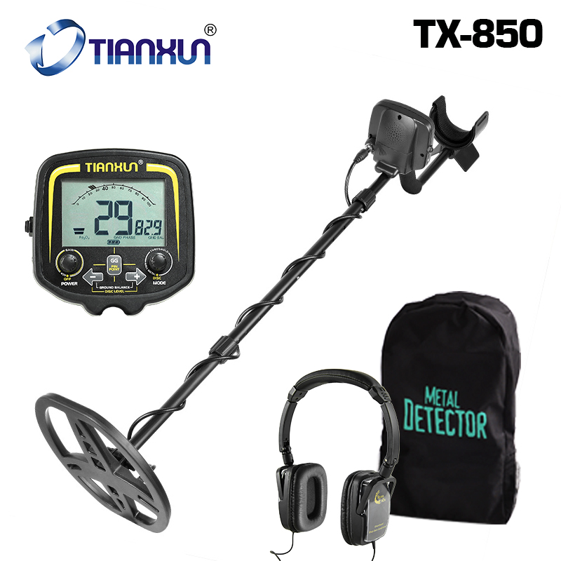 TX 850 Professional Underground Prospecting Metal Detector Depth 2 5m Scanner Finder Gold Accurate Treasure Hunter