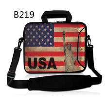 USA Flag Laptop computer Bag 11 13 15 Sleeve Pocket book Shoulder Bag Case for Macbook Air 11 12 13 15 Professional Retina Ladies Purse Messenger