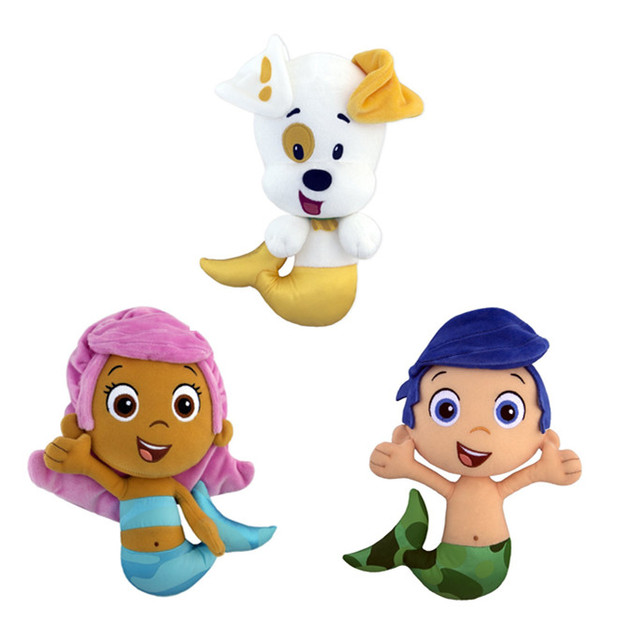 a49d3d7fa4b50 Bubble Guppies Toy Bubble Molly Gil Puppy Dog Kitty Plush Dolls Baby Kids  Toys for Children Gifts