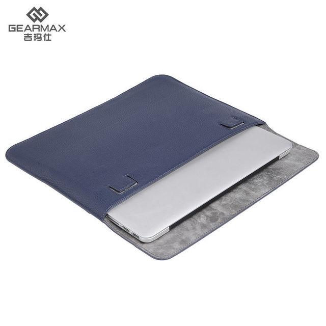 GEARMAX Ordenador portátil Bolsa para Macbook Air 13/Pro 13 Manga Del Ordenador Portátil Del Cuaderno para el Macbook Pro Retina de Cuero Resistente Al Agua 13