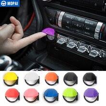 MOPAI ABS салона двигатели для автомобиля Start Stop кнопочный переключатель включатель украшения крышка наклейки Ford Mustang 2015 до стайлинга автомобилей