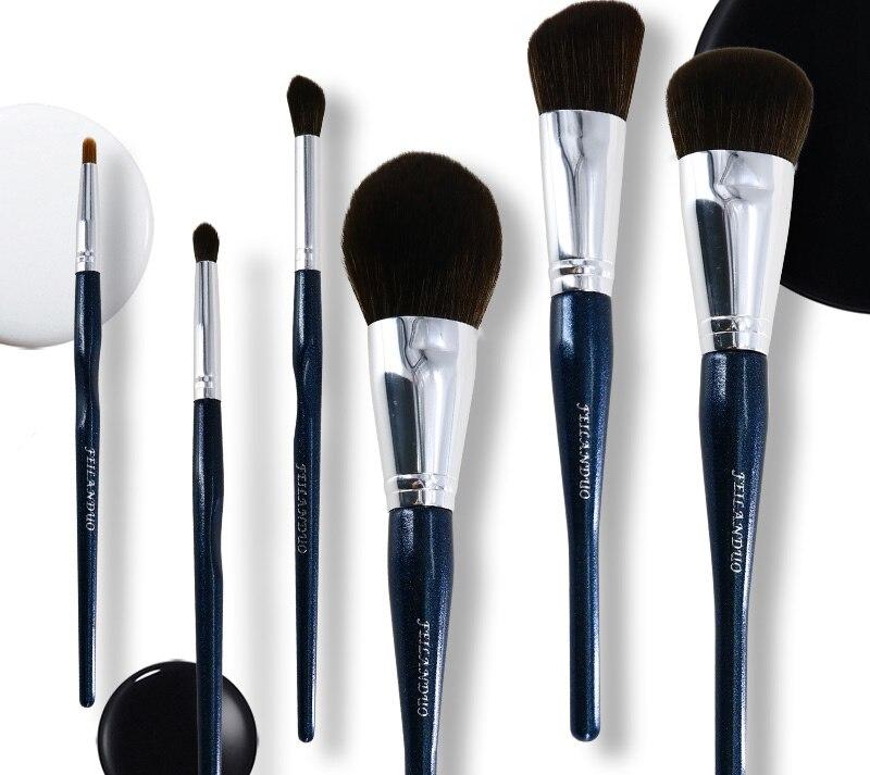 14 pçslote conjuntos de pincéis maquiagem profissional