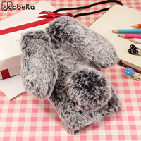 Rabbit Fur Mobile Phone Case For Apple IPhone 8 IPhone8 5 1 Cases Soft TPU Back