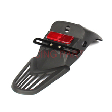 Free Shipping Brand New Universal Motorcycle Black License Plate Bracket Rear Fender Eliminator For BMW Ducati Taillight