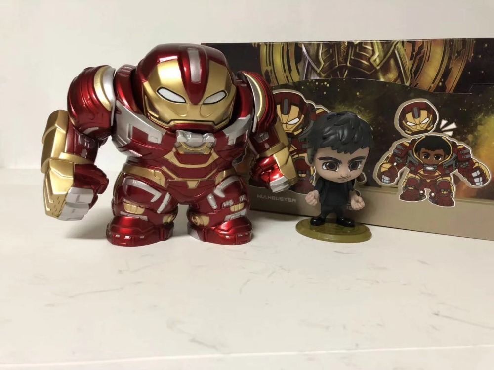 Marvel Avengers Infinity War Iron Man Hulkbuster PVC Action Figure Collectible Model Toys Car Decoration Doll 13cm