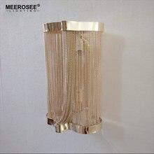 Современный минималистичный настенный светильник с алюминиевой