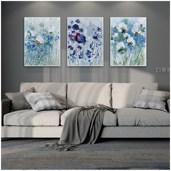 DONGMEI OILPAINTING Hand painted oil painting Home Decor High quality flower painting Can provide customized size DM1903168251