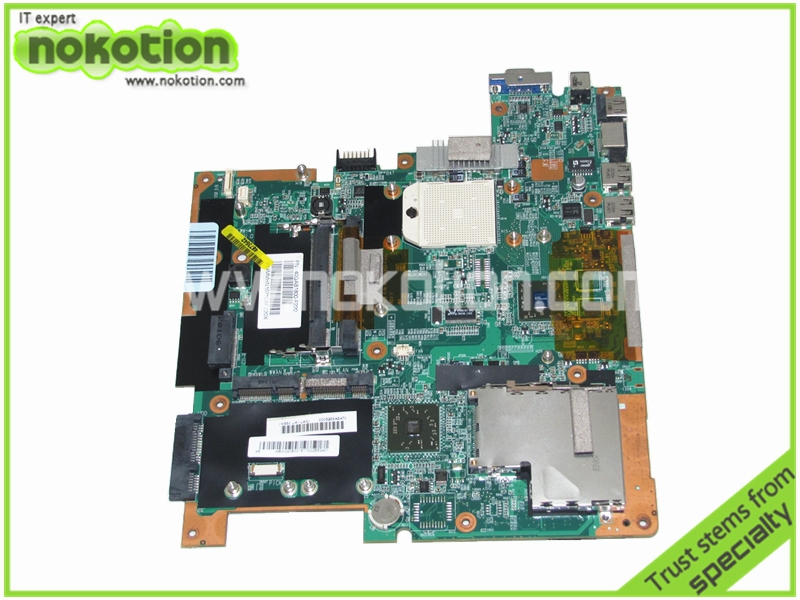 MBW040B001 Laptop Motherboard for Gateway T 1620 T 1625 T 1616 DDR2 Mainboard laptop motherboard for gateway nv54 mbwdg01001 ddr2 mainboard full tested free shipping