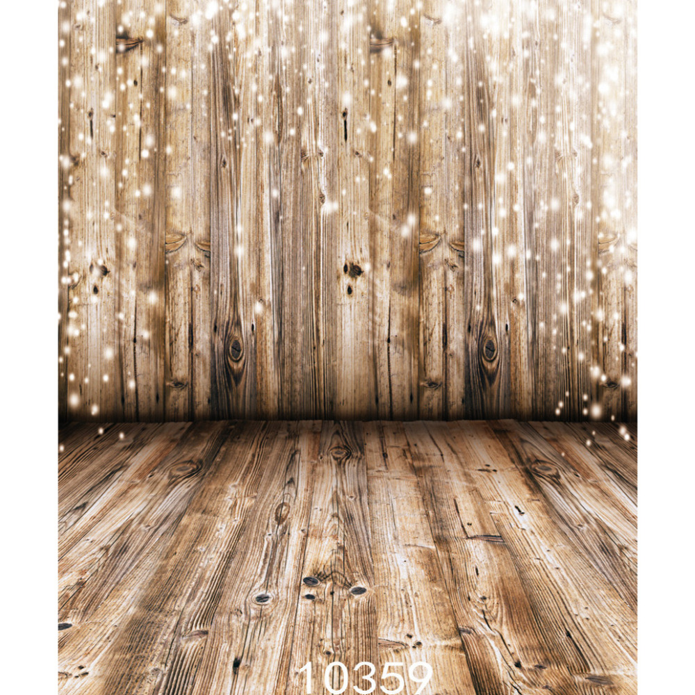 Fabric Cloth Custom Photography Backdrops Prop Christmas Wooden Floor Wall Sparkles Vinyl Backgrounds Photo Studio for Children 300cm 300cm vinyl custom photography backdrops prop digital photo studio background s 4748