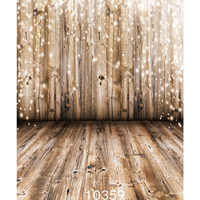 Fabric Cloth Custom Photography Backdrops Prop Christmas Wooden Floor Wall Sparkles Vinyl Backgrounds Photo Studio for Children