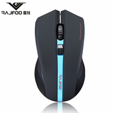 RAJFOO I8 Wireless USB 2 4GHz Mouse Pads Computer for Mac Business Entertainment font b Gaming