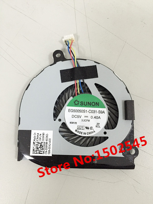 Free Shipping Genuine New Original Laptop CPU Cooling Fan For DELL ...