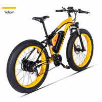 BaFang motor 1000W electric snowmobile beach booster bicycle off-road electric bicycle 48V17A lithium battery