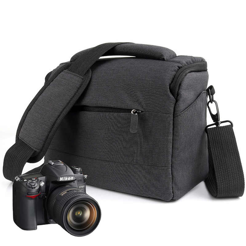 Bolsa para cámara DSLR, mochila Lowepro, bolsa de hombro de poliéster, estuche impermeable para fotografía, funda para objetivo Canon Nikon Sony