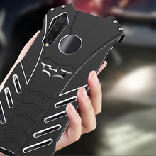 R-just Armor Aluminum Metal Phone Bumper Cover Case For Xiaomi  Cc9 Cc9e Cover+holder Batman Mobile Cases