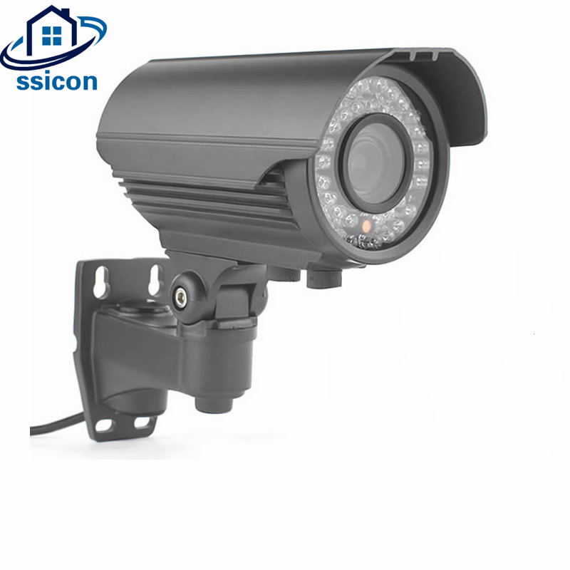 SSICON 2MP 4MP Metal Bullet IP Camera 2.8-12mm Varifocal Lens 4x Zoom IR Distance 40M Waterproof POE CCTV Camera Outdoor Onvif smar onvif security hd ip camera 720p 960p 1080p outdoor waterproof cctv bullet camera 4x zoom 2 8 12mm manual varifocal lens