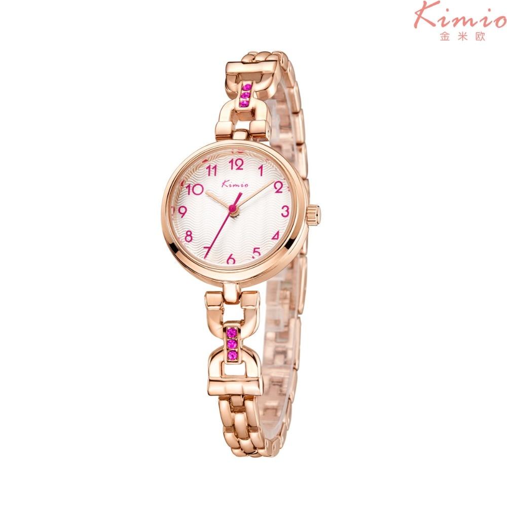 2017 Nueva Kimio Luxury Watch Mujeres Hombres Lover's Quartz-Watch - Relojes para mujeres