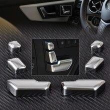 CITALL новая хромированная кнопка регулировки дверного сиденья переключатель Крышка Накладка для Mercedes Benz E GLCLS класс Benz W212 W218 X166